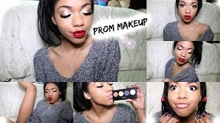 Simple Prom Makeup Tutorial!!!!