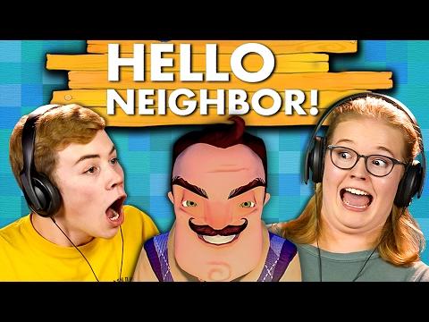 HELLO NEIGHBOR Teens React Gaming