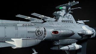 Building Bandai's 1/1000 Dreadnought (Space Battleship Yamato 2202)