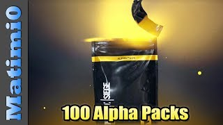 Opening 100 Alpha Packs - Rainbow Six Siege