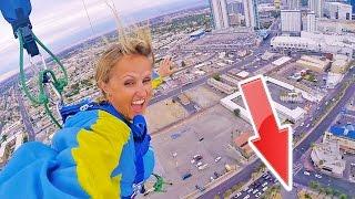 INSANE SKY JUMP SKYDIVES! SHE DID IT!!