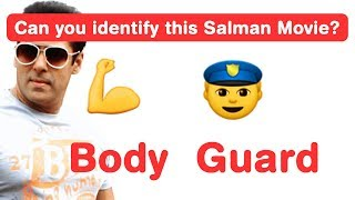 Salman Khan Emoji Challenge! Can you Guess his Bollywood Movies in this game?