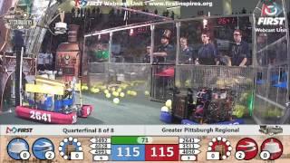 Quarterfinal 8 - 2017 Greater Pittsburgh Regional