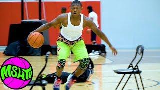 Ramone Woods Workout - Basketball Ball Handling and Shooting Drills with Kingdom Athletics