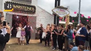Parookaville 2016 - Chris und Maike heiraten in der Warsteiner Kirche auf dem Festivalgelände