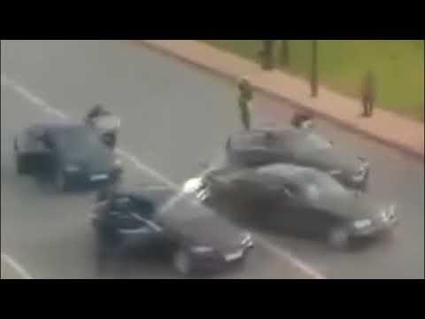 CCTV PENYERANGAN KONVOI PRESIDEN