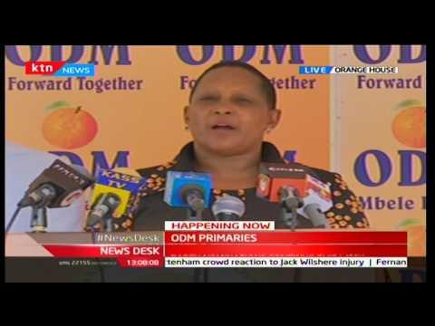 News Desk ODM Party Primaries 17 4 2017