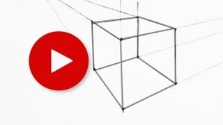 How to Draw a Cube in Two Point Perspective