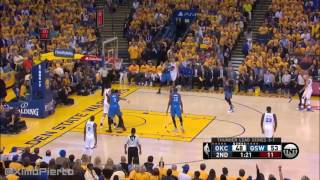 Warriors vs Thunder WCF Game 5 Full Highlights
