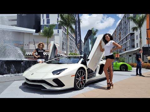 Xxx Mp4 Hot Cars Hot Girls Lamborghini Miami Supercar Paradise At Fathers Day Car Show 3gp Sex