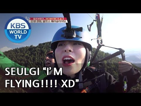 Wendy X Seulgi s first paragliding Experience Battle Trip 2018.08.26