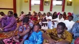 First Aldershot Koreteh Eid Prayer 29/07/2014 Part 1