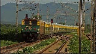 INDIAN RAILWAYS : 16057 Sapthagiri Express Journey Compilation : Chennai - Tirupati [HD]