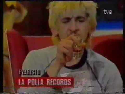 Entrevista a Evaristo de La Polla Records Plàstic TVE2 1989