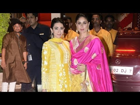 Xxx Mp4 Kareena Kapoor With Sister Karishma Kapoor At Mukesh Ambani S GRAND Ganpati Celebrations 2018 3gp Sex