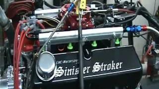 Ford Mustang 460 Stroker Small Block Motor Fast EFI 600+ HP