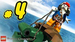 LEGO Pirati dei Caraibi Gameplay ITA Walkthrough #4 - Il Covo - La Maledizione della Prima Luna