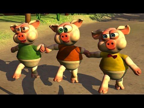 Los Tres Chanchitos Canciones Infantiles de la Granja