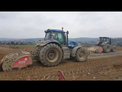 Xxx Mp4 PTH Multi Crusher 1800 2200 Crushing And Stabilizing A Highway In Germany 3gp Sex
