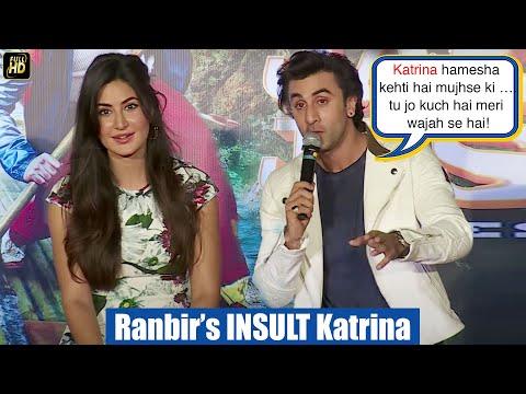 Xxx Mp4 Jealous Ranbir S Shocking INSULT To Katrina At Jagga Jasoos Galti Se Mistake Song Launch 3gp Sex