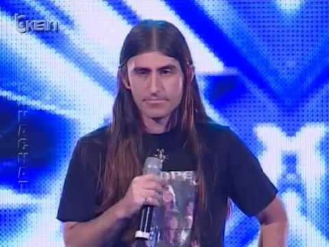 X Factor Albania 8 Janar 2012 Edmond Themeli