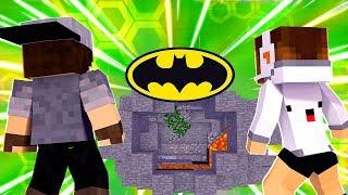 Minecraft: HARDCORE DUPLA (2/3) - A BATCAVERNA | BIBI |