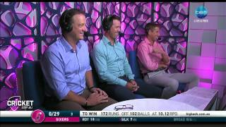 Ricky Ponting sings Mark Waugh song