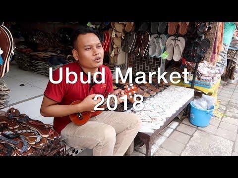 UBUD MARKET SHOPPING BALI 2018