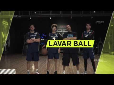 Lonzo Ball can pass a basketball through a moving SUV..