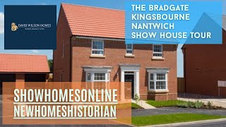 David Wilson Homes  - The Bradgate @ Kingsbourne, Nantwich, Cheshire By Showhomesonline