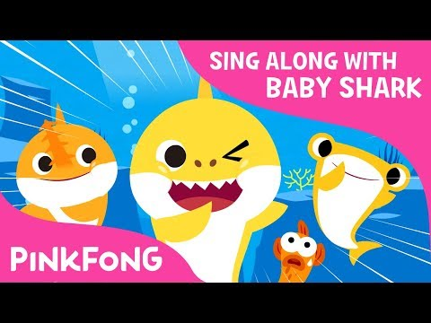 S-H-A-R-K | Sing along with baby shark | Pinkfong Songs for Children