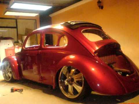 VW BUG. .68 VOCHO FUSCA CANDY APPLE RED