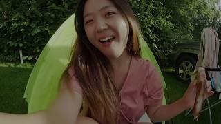 유럽 런던 캠핑 여행 🏕 캠핑의 묘미는 뭐다?🤤 Uk travel vlog 2017