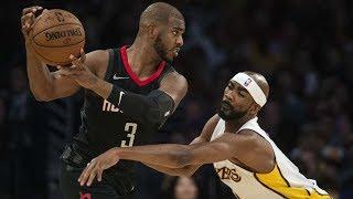 James Harden, CP3 Get Fancy vs Lakers! 7 Game Win Streak! Rockets vs Lakers 2017-18 Season