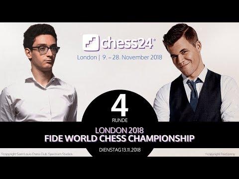 Xxx Mp4 4 Partie FIDE Schachweltmeisterschaft 2018 Carlsen Caruana 3gp Sex