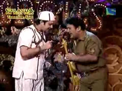 Kashif khan and Ali asghar in comedy circus