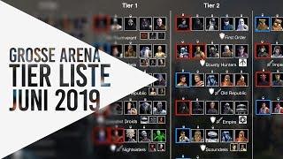 Beste Teams Große Arena - Tier Liste Juni 2019 ▶ Tutorial ▷ Star Wars: Galaxy Of Heroes