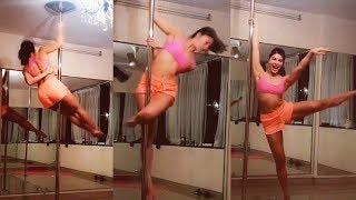 Jacqueline Fernandez HOT POLE DANCE Video