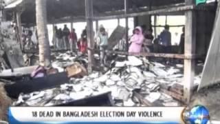 [NewsLife] One Global Village: 18 dead in Bangladesh election day violence || Jan. 6, '14