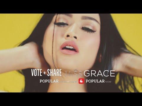 VOTE Miss GRACE Iskandar | Grand Finale Miss POPULAR 2017
