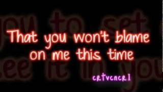 See No More Joe Jonas ft.Chris Brown Lyrics