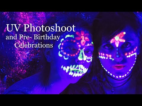 Xxx Mp4 Pre Birthday Celebrations And UV Paint Photoshoot Fun Viki Wishes 3gp Sex