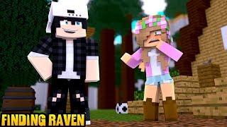 LITTLE KELLY FINDS RAVEN!   Minecraft Little Kelly