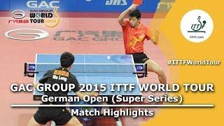 German Open 2015 Highlights: MA Long vs ZHANG Jike (FINAL)