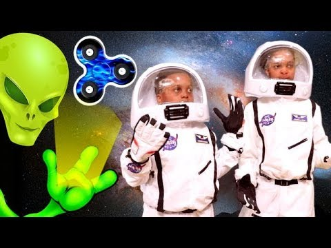 FIDGET SPINNER SPACE ADVENTURE Shiloh And Shasha Onyx Kids