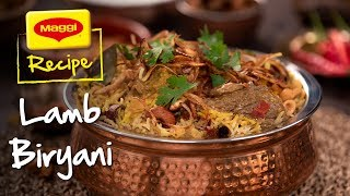 Lamb Biryani: MAGGI Recipes