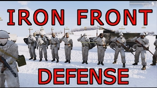 Arma 3 Iron Front USSR Winter ops: A Trench Defense part 1/2