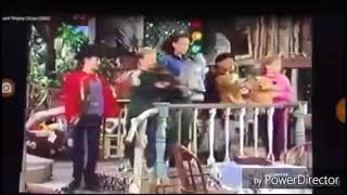 """Barney's friends doing fancy footwork to """"The Coachman"""""""