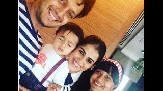 Genelia and Riteish Deshmukh With Son Very Cute Latest Video