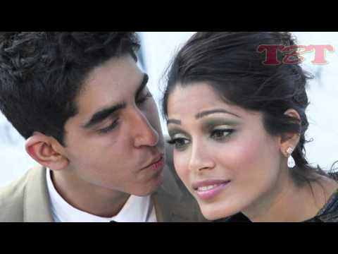 LEAKED! Freida Pinto Hot Kissing Scene With Boyfriend | Hot Video